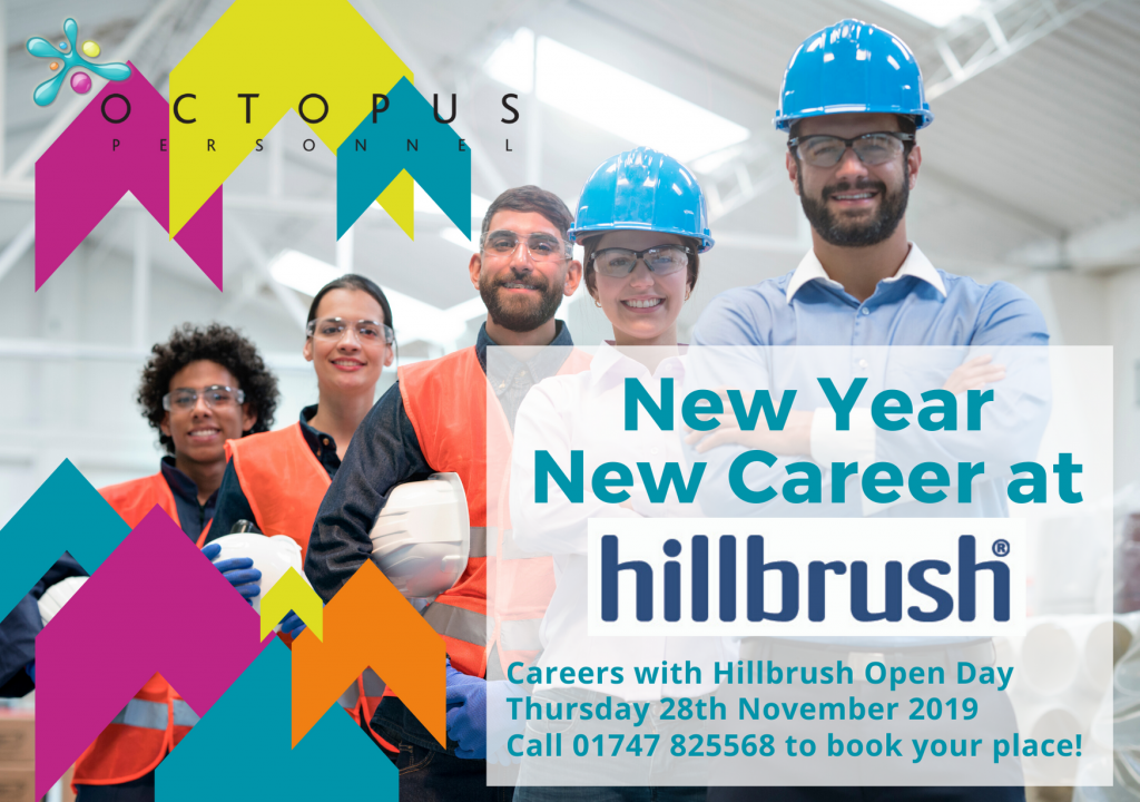 Front of Marketing Car 28th November 2019 - Octopus Personnel Recruitment Day at Hillbrush