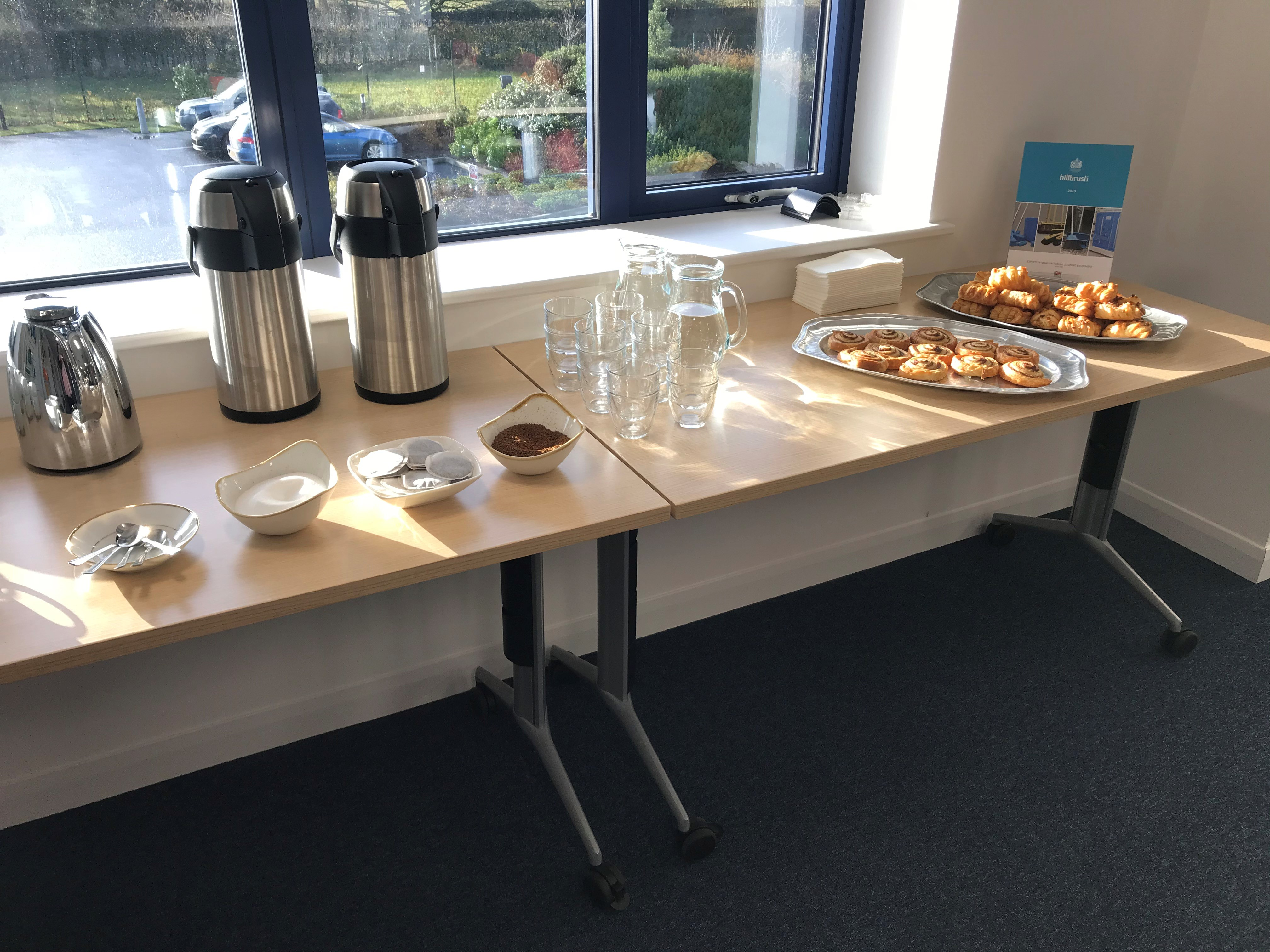 Teas and Coffees provided - Octopus Personnel Recruitment Day at Hillbrush