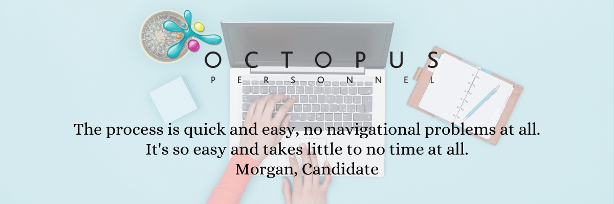 Candidate testimonial - uploading timesheets - Octopus Personnel