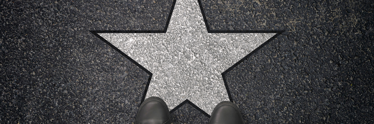 Image of a star on the floor - How to secure the best talent in an Employer Driven Market