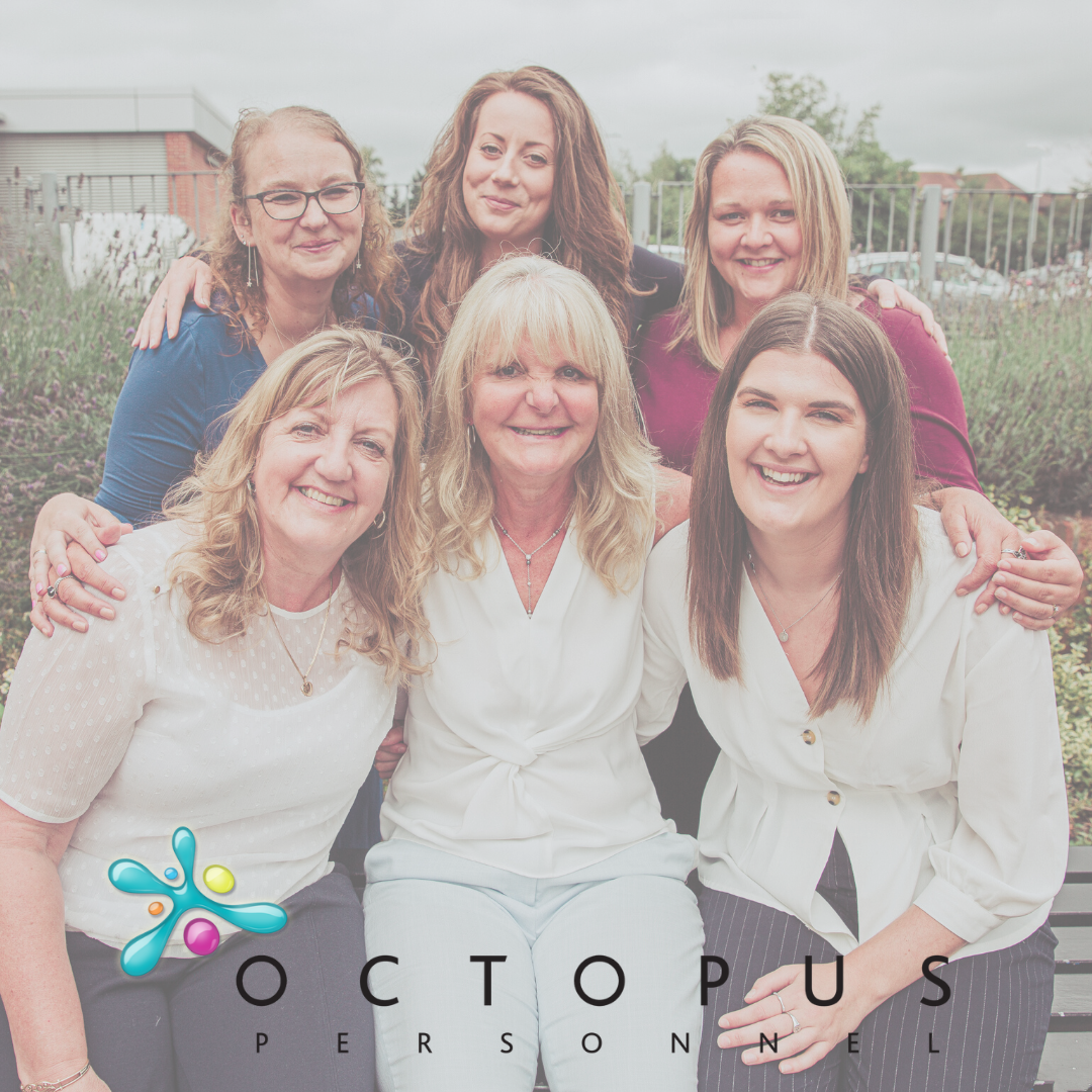 Image of the Octopus Personnel Team - Meet with us virtually or in the office