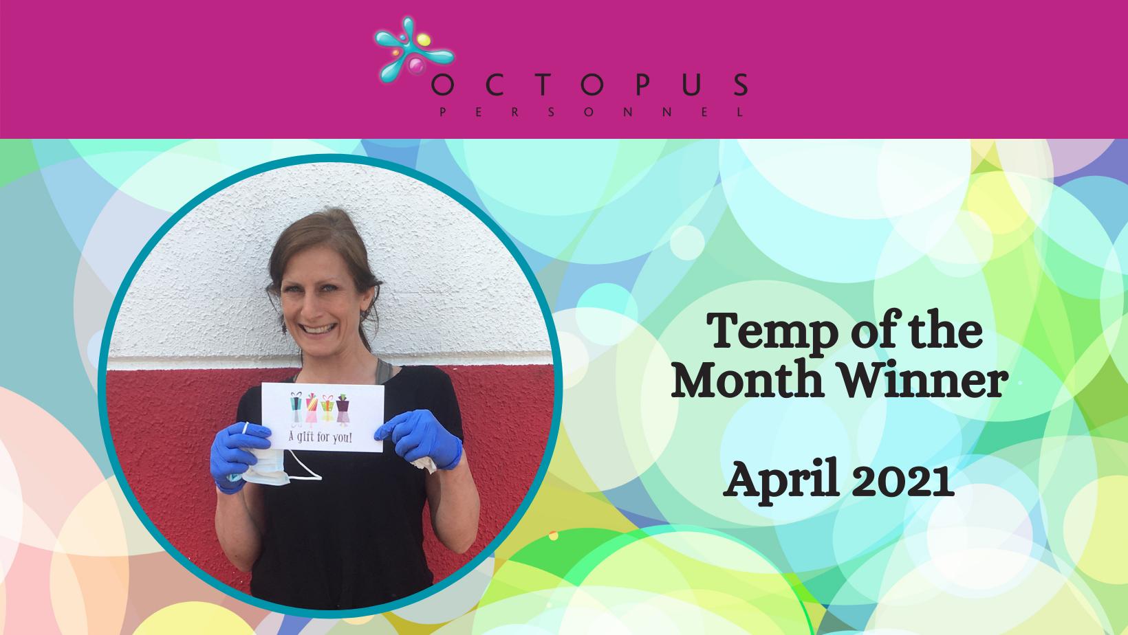 Temp of the Month Winner